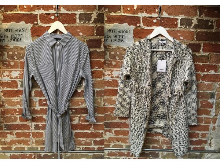 Nana Judy Shirt Dress $125 Suncoo Sweater $165