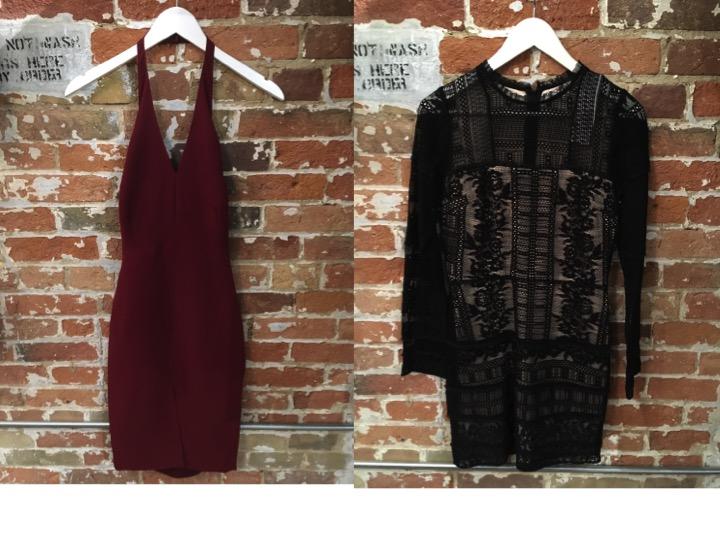 Likely Halter Dress $250 Parker Lace Dress $378