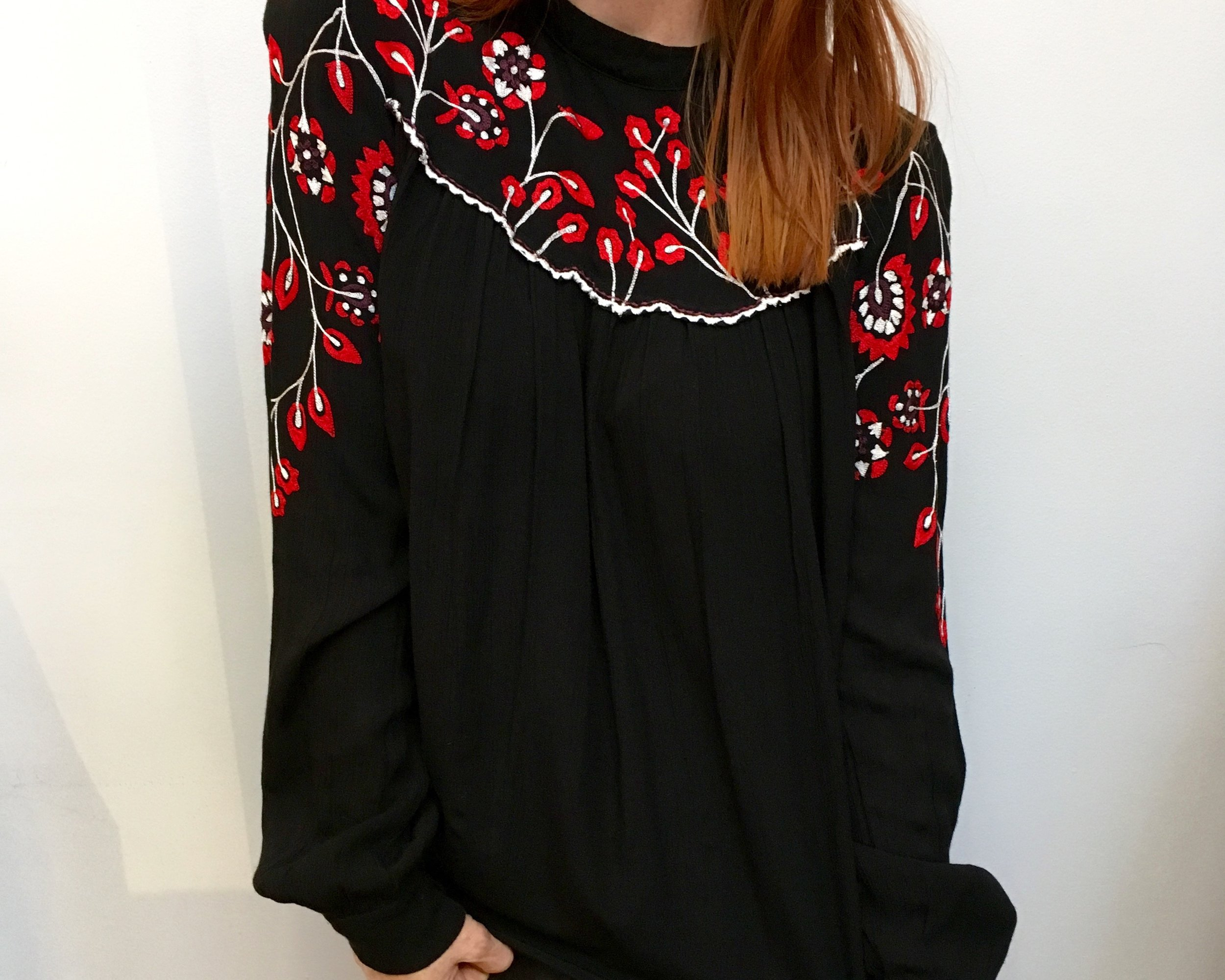 Parker Embroidered Blouse WAS $288NOW $201