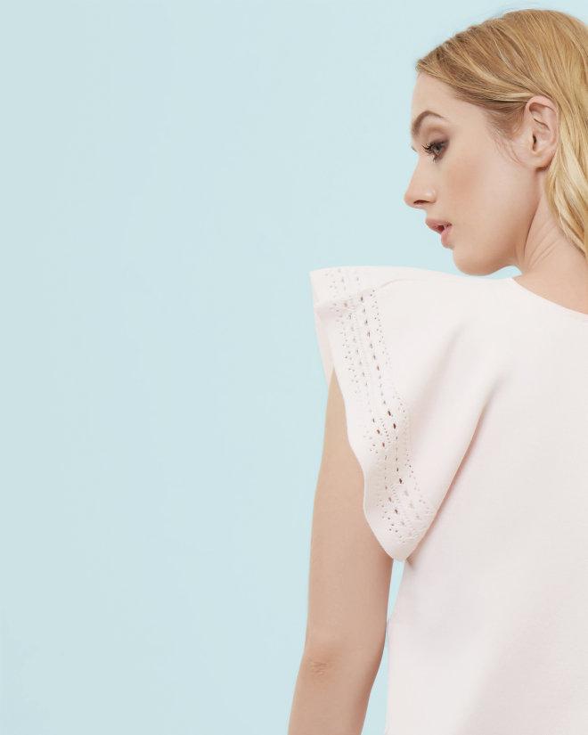 Zeforo Short Sleeve Knit Top $219