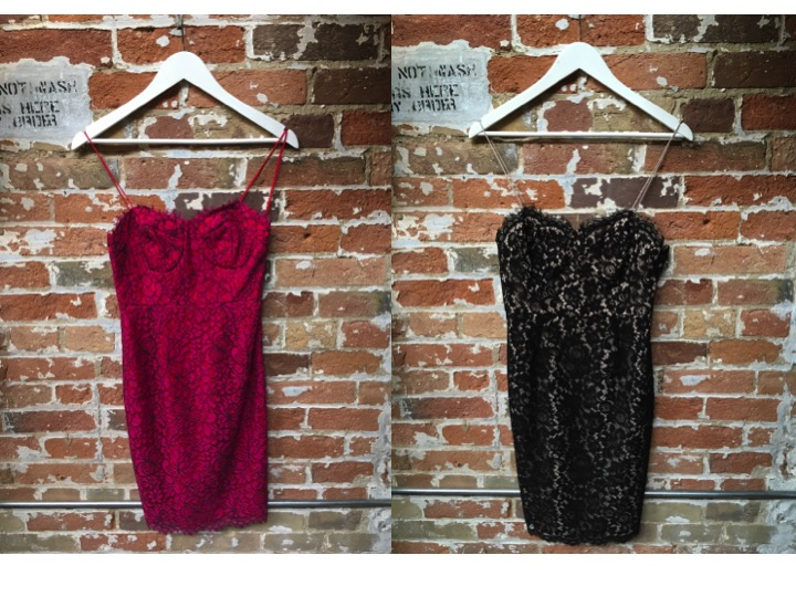 Likely Lace Dress (two colour ways) $265