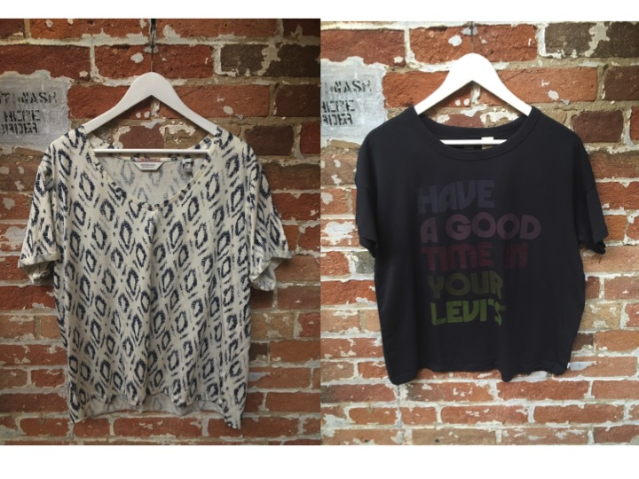 Maison Scotch Printed Tee $65 Have A Good Time In Your Levi's Tee $45