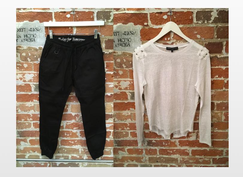 Publish Jogger $125 Generation Love Lace Up Shirt $210