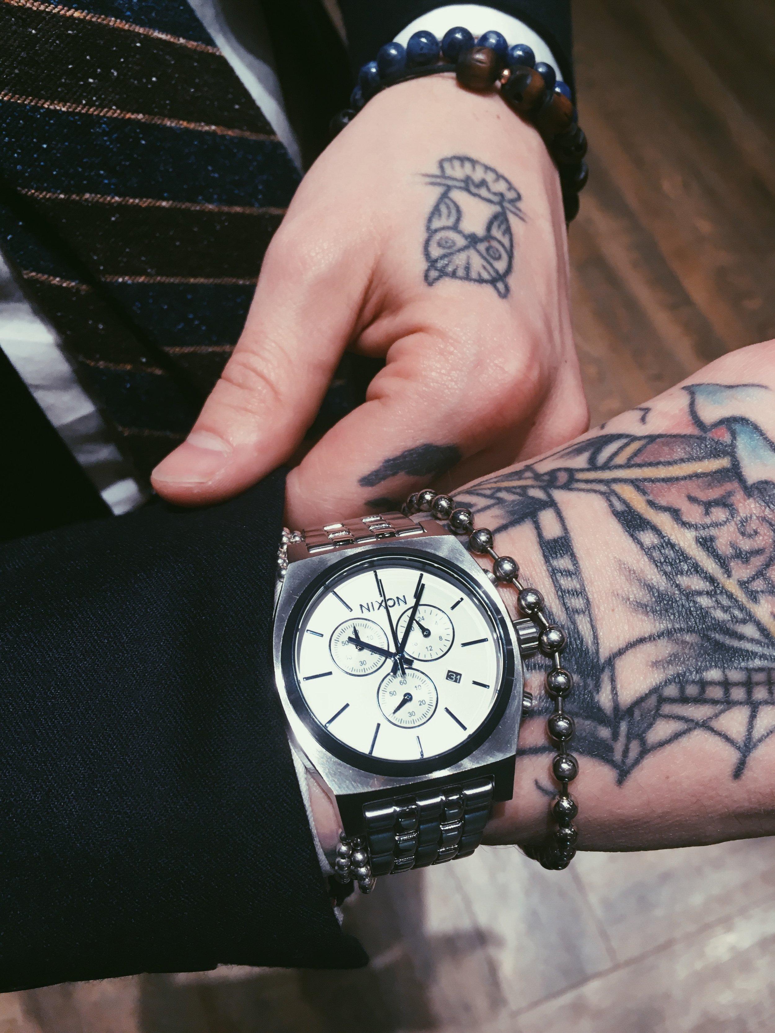 Nixon Time Teller Chrono Watch $275