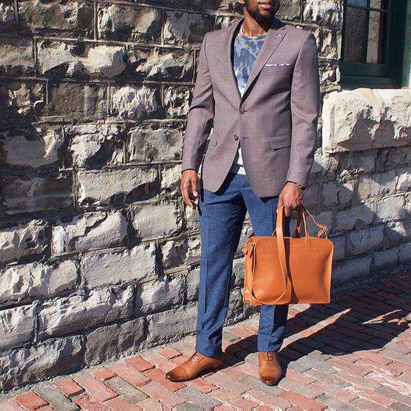Sandqvist Leather Bag $375