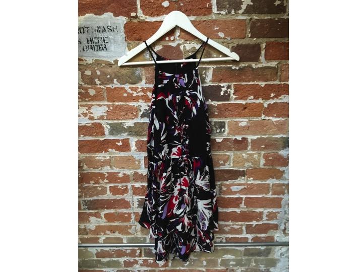 Parker Printed Ruffle Dress $468