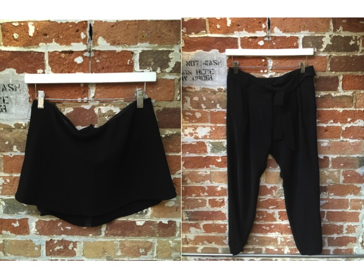 Likely Crop Top $172 Parker Slouch Silk Pant $298