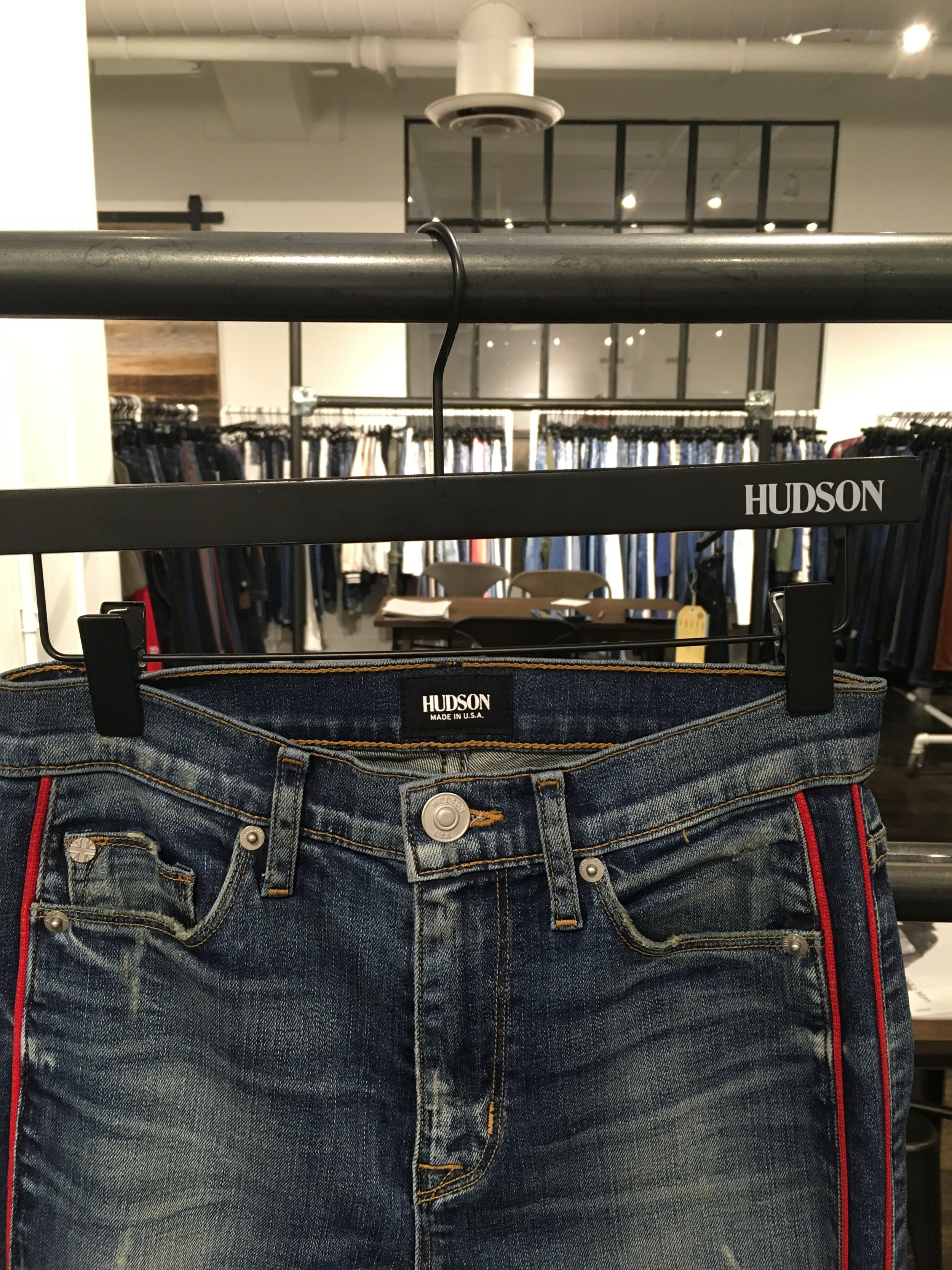 Hudson woo'd us with their unique jeans and a great party to bring awareness to their Uganda Organization and new collections