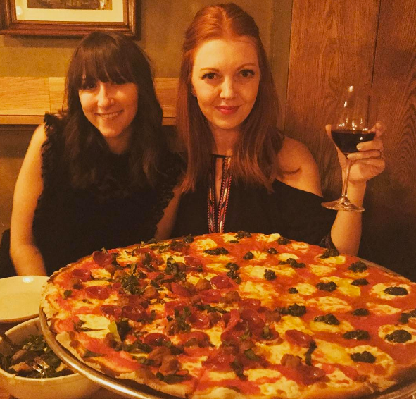 Pizza is a food group at Gotstyle, so to have the chance to eat at one of the top pizza places in New York was a dream come true. Rubirosa is a must attend, this was the SMALL size of pizza and we ate every last bit it was so good.