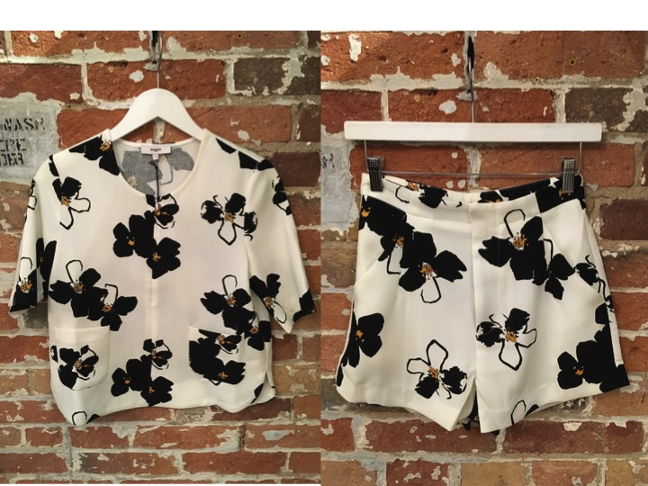 Suncoo Floral Top $150 Suncoo Floral Shorts $125