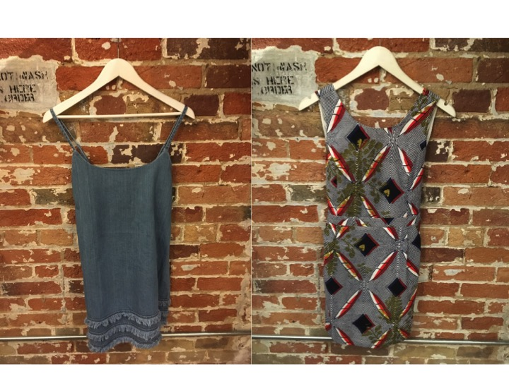 Fifth The Label Denim Dress $135 Suncoo Printed Dress With Open Back $200