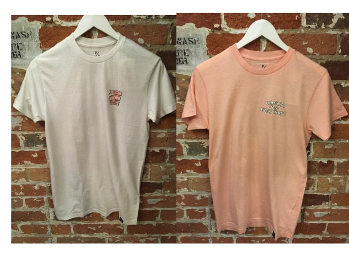 Peace Collective Girls Only Tee Shirts $35  This collection features pink, white, grey and black versions of the tees