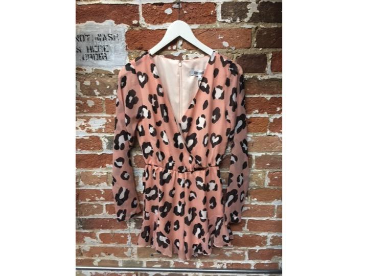 Dry Lake Leopard Romper $178