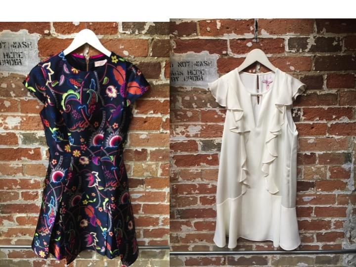 Ted Baker Paisley Skater Dress $385 Parker Mini Dress $348