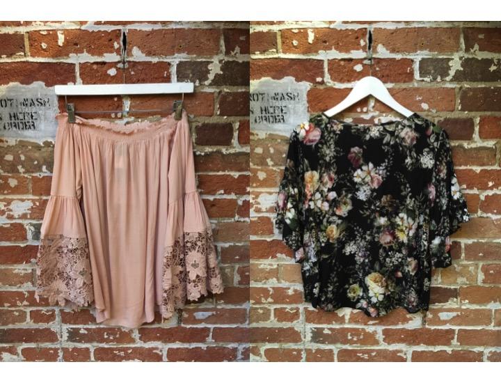 Muche et Muchette Off The Shoulder Top $128 Velvet Vintage Floral Blouse $215