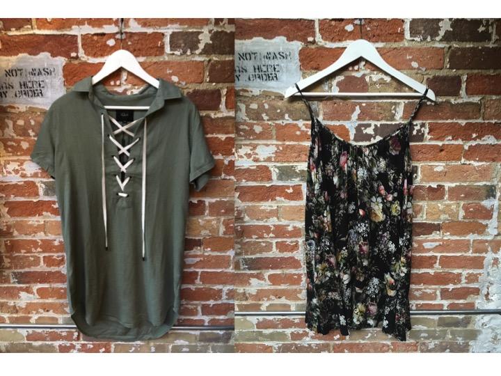 Rails Lace Up Dress $244 Velvet Floral 90's Dress $245
