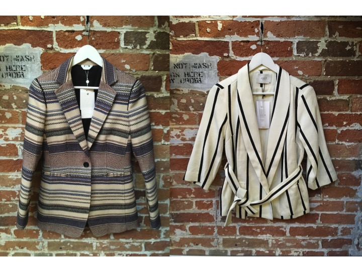 Sosken Blazer $395 Just Female Blazer $288