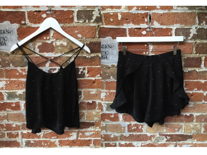 Keepsake Crop Top $ Keepsake Ruffle Short $