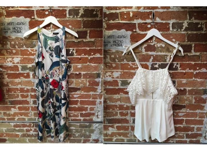 Tiger of Sweden Printed Dress $379 Parker Off The Shoulder Romper $348