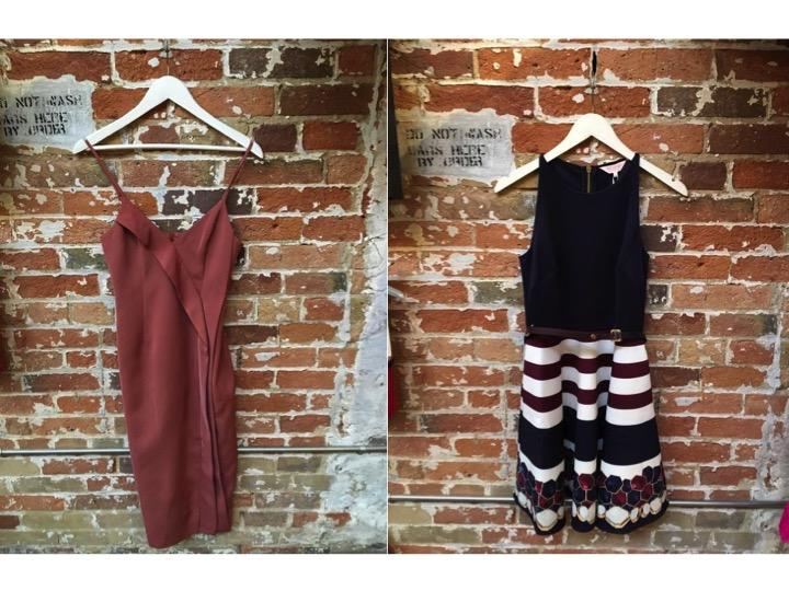 Keepsake Power Slip Dress $235 Ted Baker Skater Dress $366