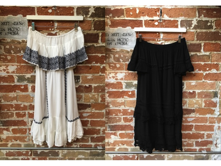 Muche & Muchette Embroidered Off The Shoulder Dress $100 Muche & Muchette Esmerelda Dress $135