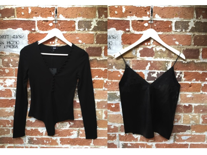 Paige Bodysuit $220 Suncoo Leather Detailed Camisole $160
