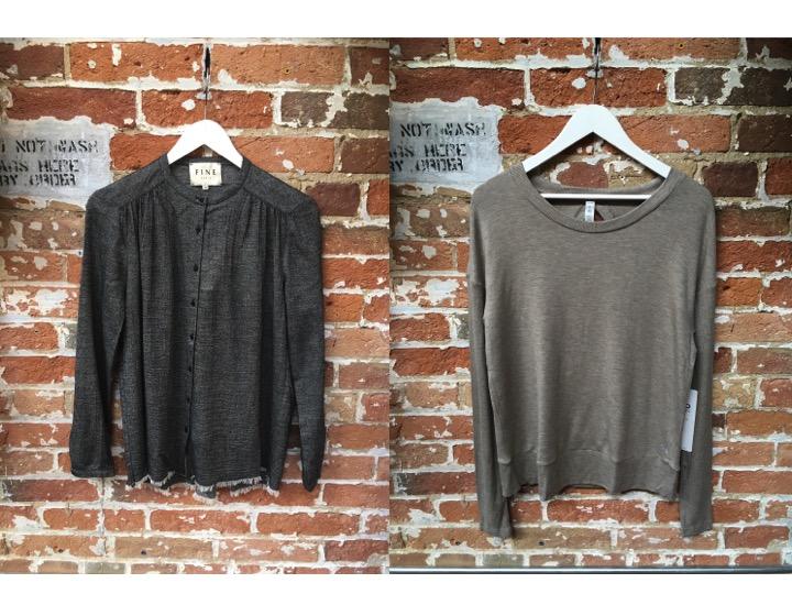 FINE Collection Blouse $199 Alo Yoga Long Sleeve $176