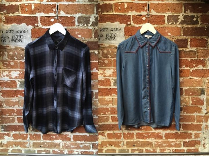 Rails Hunter Plaid $215 Suncoo Western Shirt $175