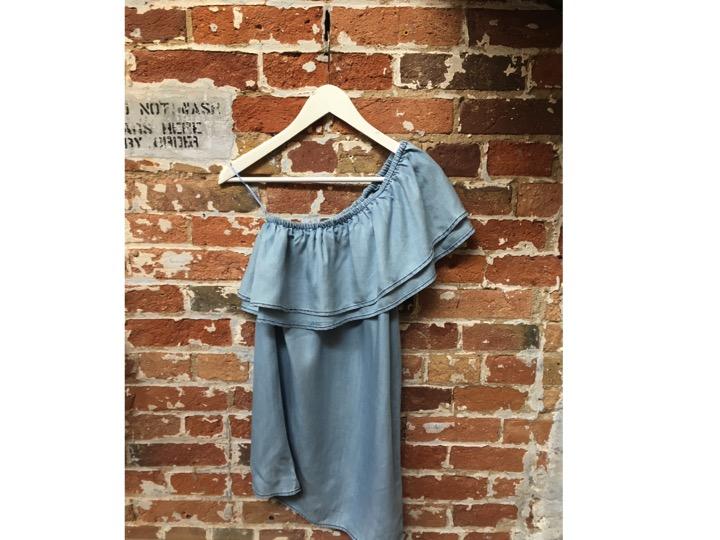 BB Dakota Ruffle Dress $125