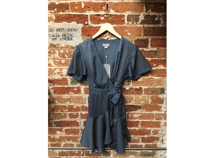 Finders Keepers Wrap Dress $230