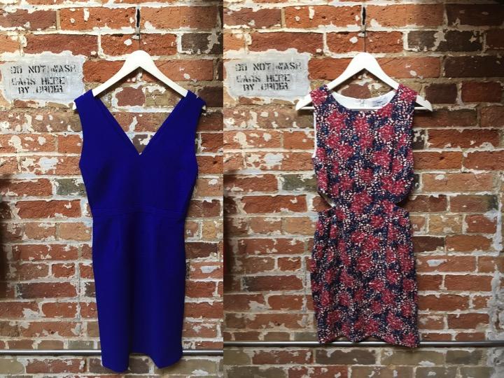 Suncoo Criss Cross Mini Dress $185 Suncoo Side Cut Out Dress $215