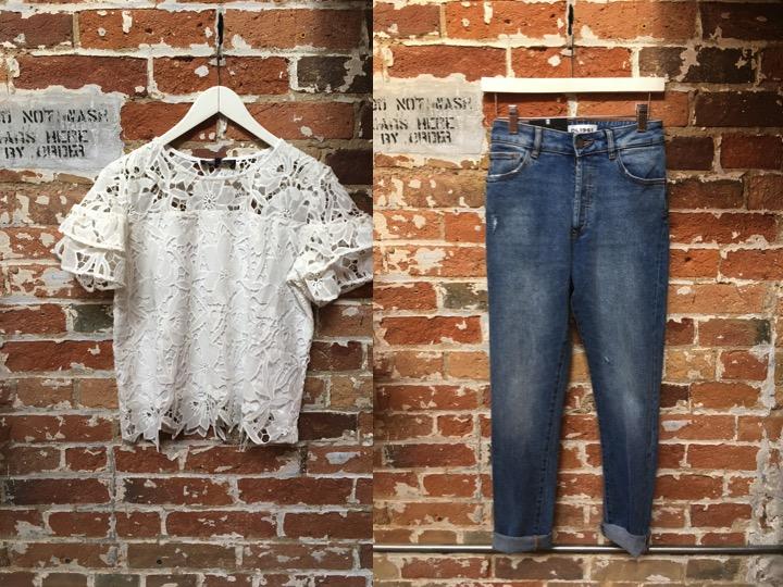 Generation Love Lace Top $248 DL1961 Bella Vintage Jeans $255