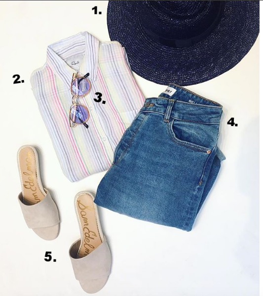 Laid Back Mom:   1.   Brixton Hats  are great for Summer. Funky straw colours, or the trendy Fiddler cap are everywhere. Help mom out on a bad hair day $80   2. Rails.  We've said it over and over again but all it takes is one try and they will fall in love with the feeling of these shirts! $215   3. Spitfire Sunglasses  are the perfect add on to any gift. Everyone always wants a new pair at the beginning of a season. These trendy and affordable glasses are light and comfortable too! $65   4. DL1961 Denim.  We get it, denim is personal, but how nice would it be for someone to personal shop you some denim so you don't have to go through the ordeal of it yourself? Our stylists are here to help and the soft fabrics of this denim is a crowd pleaser. $265   5. Sam Edelman Shoes.  Comfortable yet chic and all with sensible heels. Could it be anymore perfect? $130
