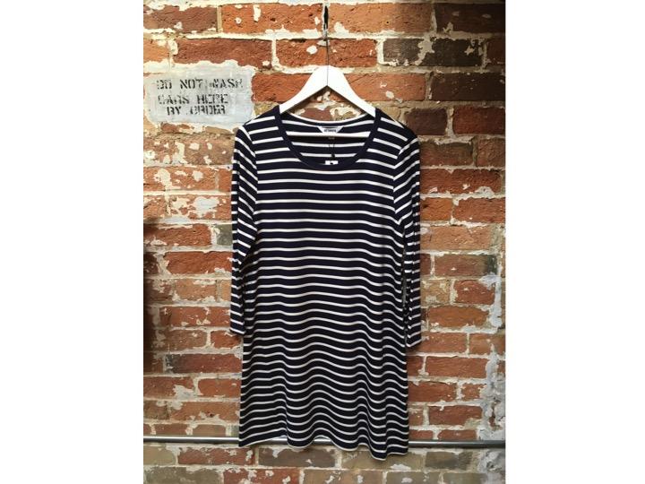 BB Dakota Stripe Jersey Dress $110