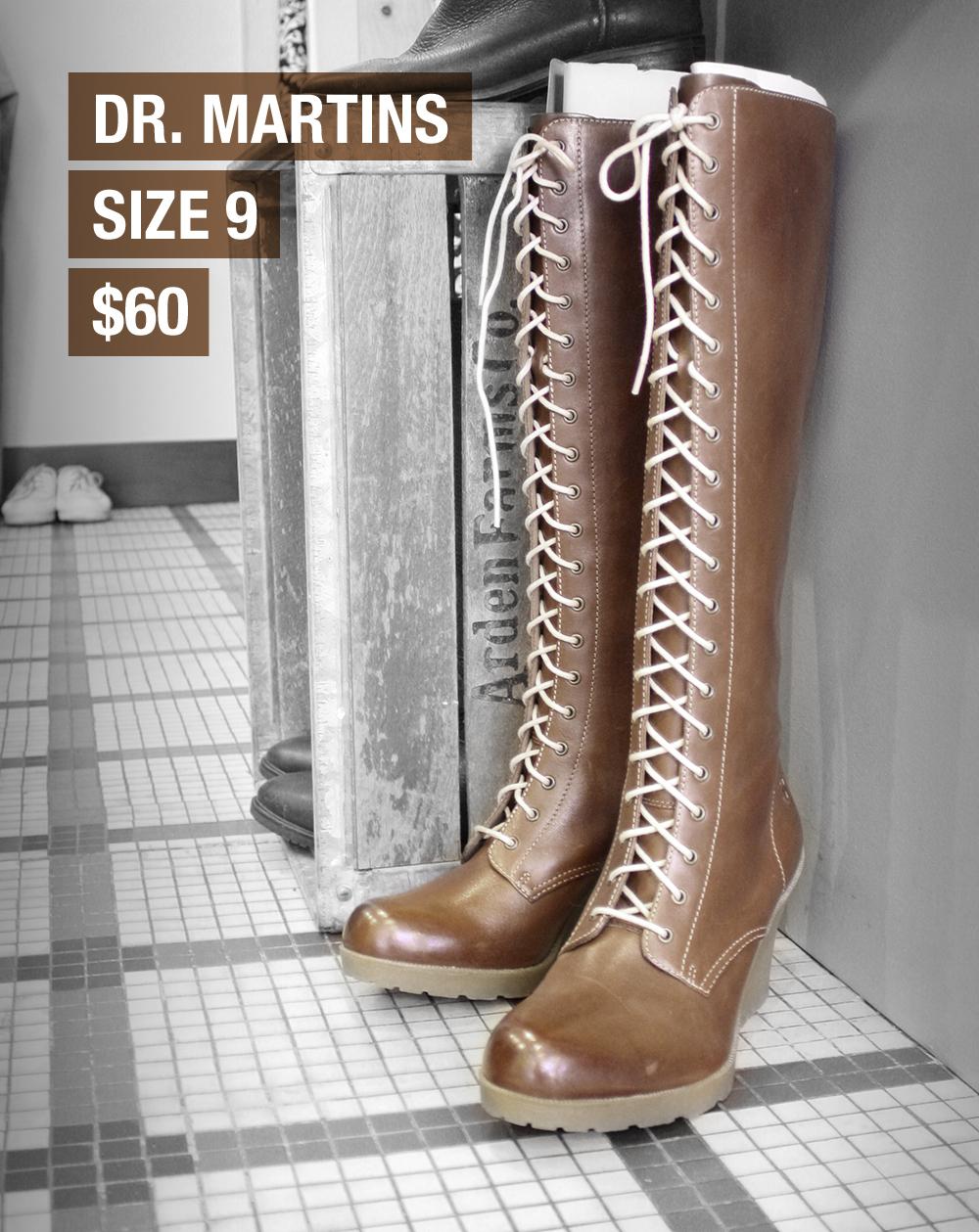 Dr. Martins: size 9 $60 -sold-