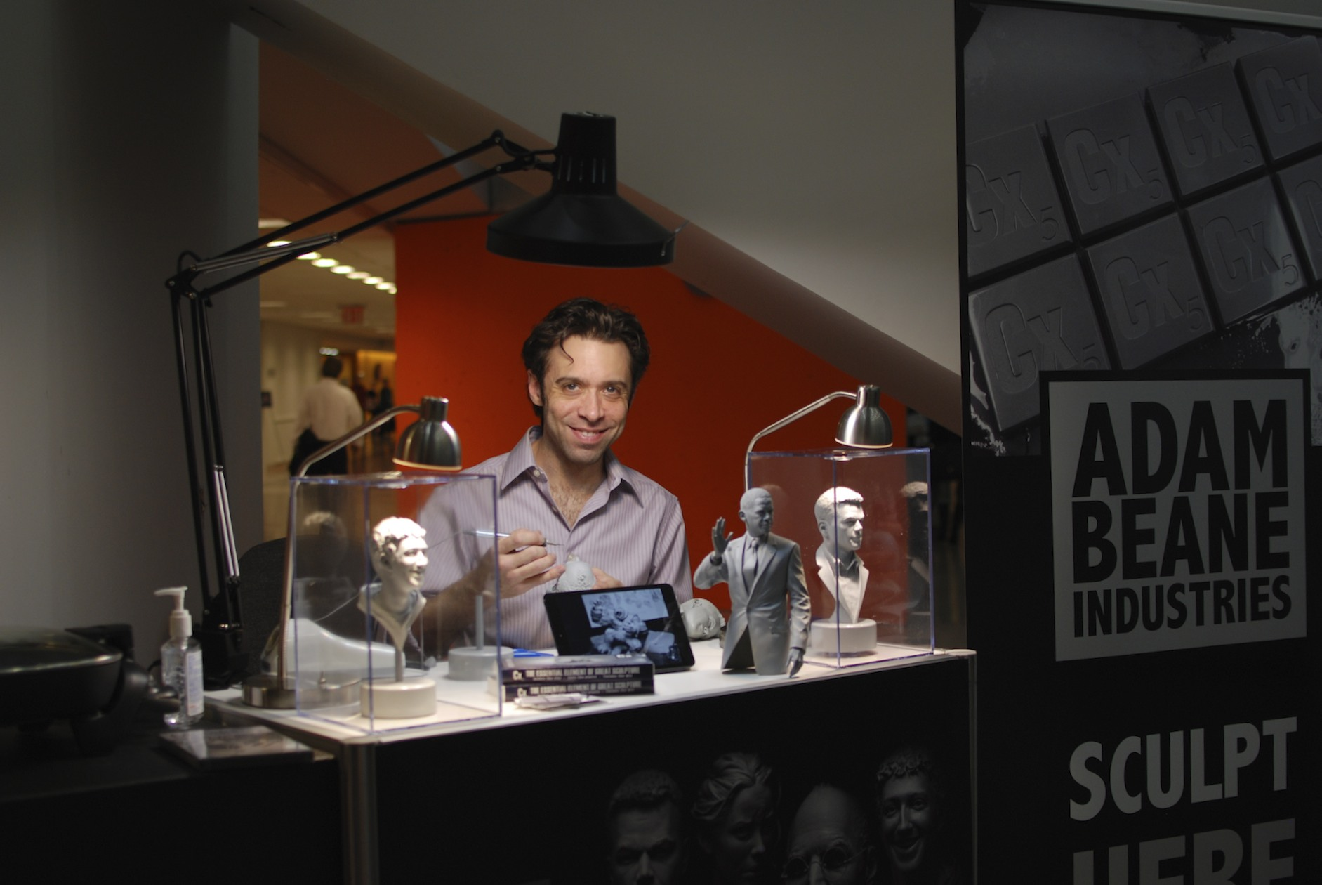 Sculpt here now, with Adam Beane!