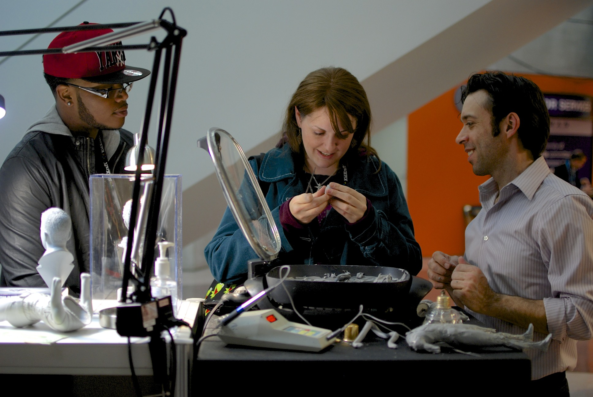 Big smiles when sculpting in Cx5 for the first time