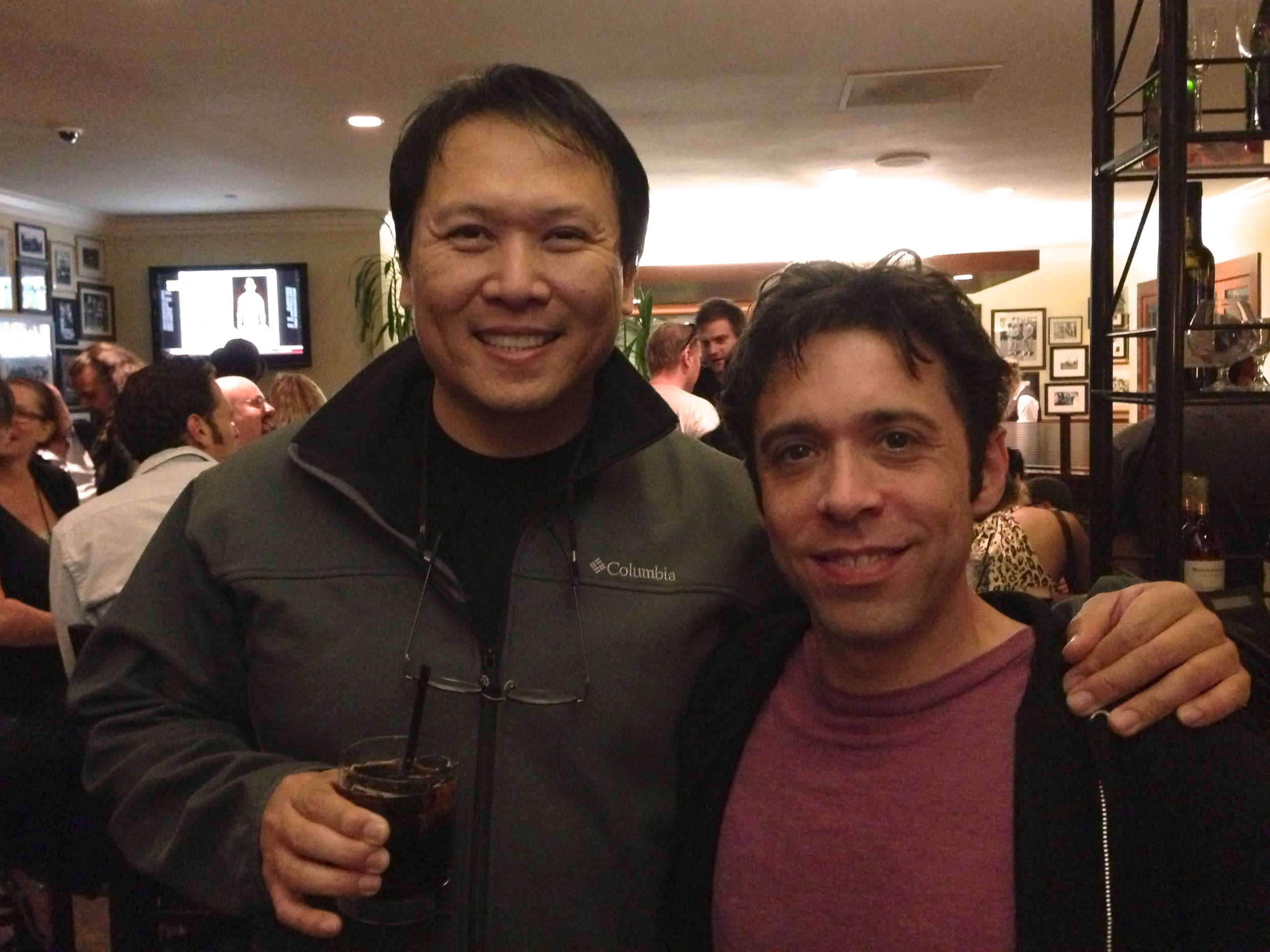 Thrilled to get a chance to hang with Steve Wang