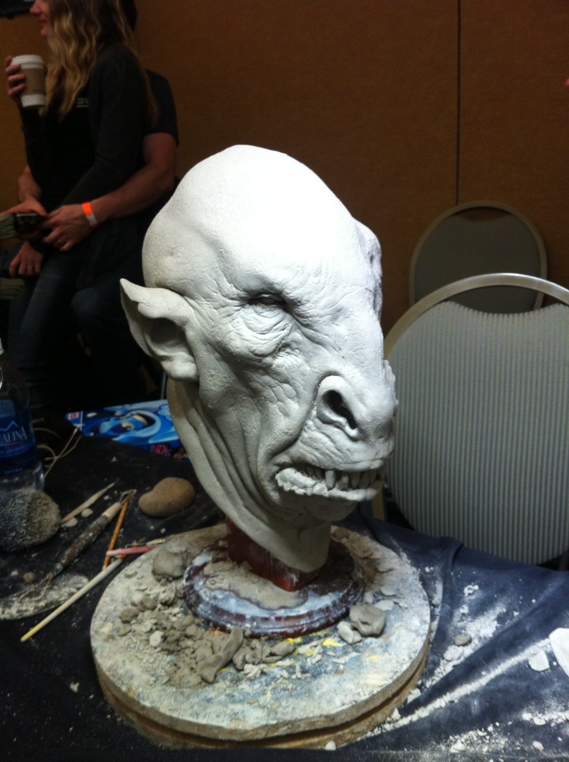 Jordu Schell made this amazing creature from beginning to end over the weekend!