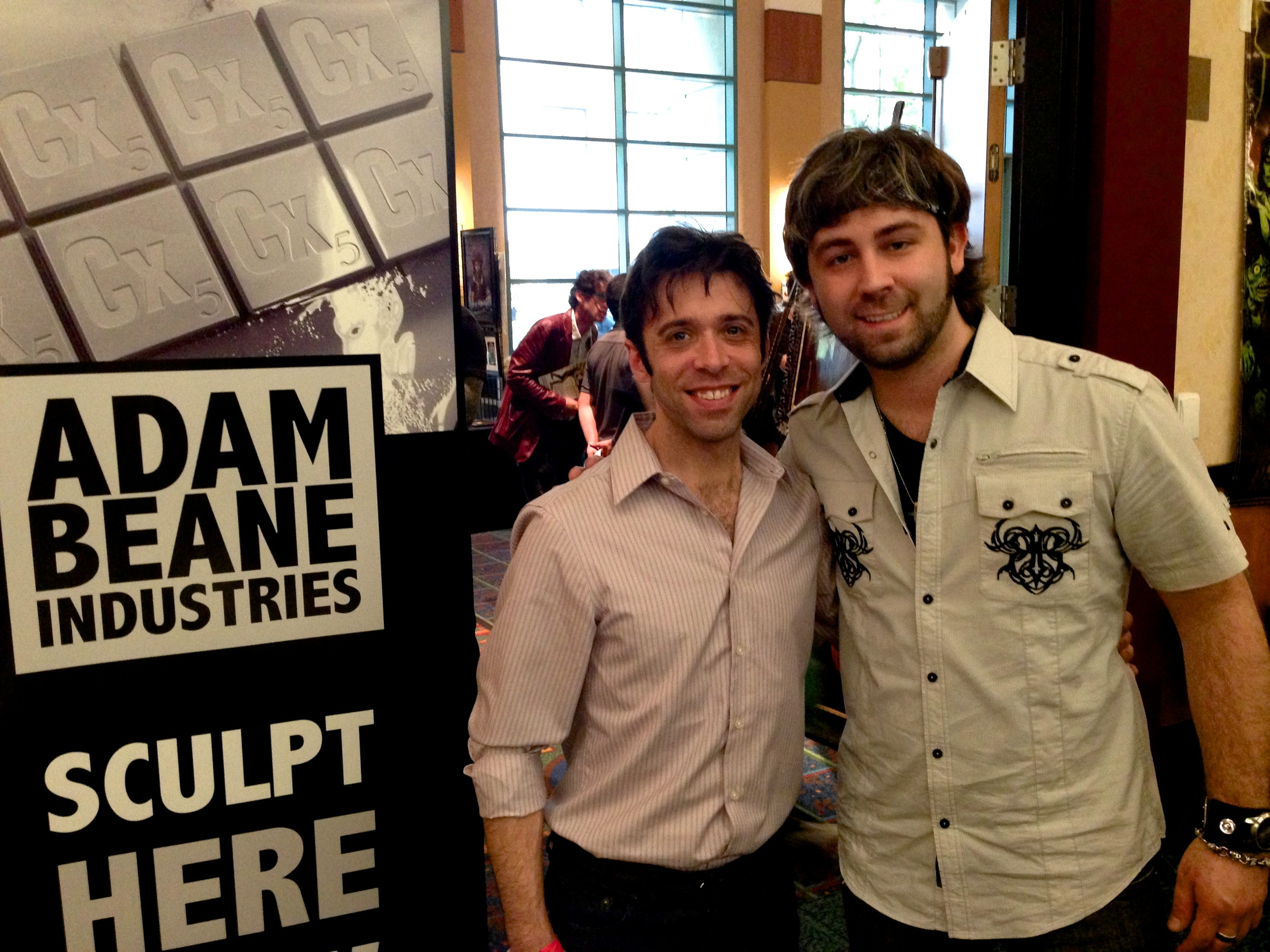 Anthony Kosar, Face Off Season 4 winner, stopped by to say hi!