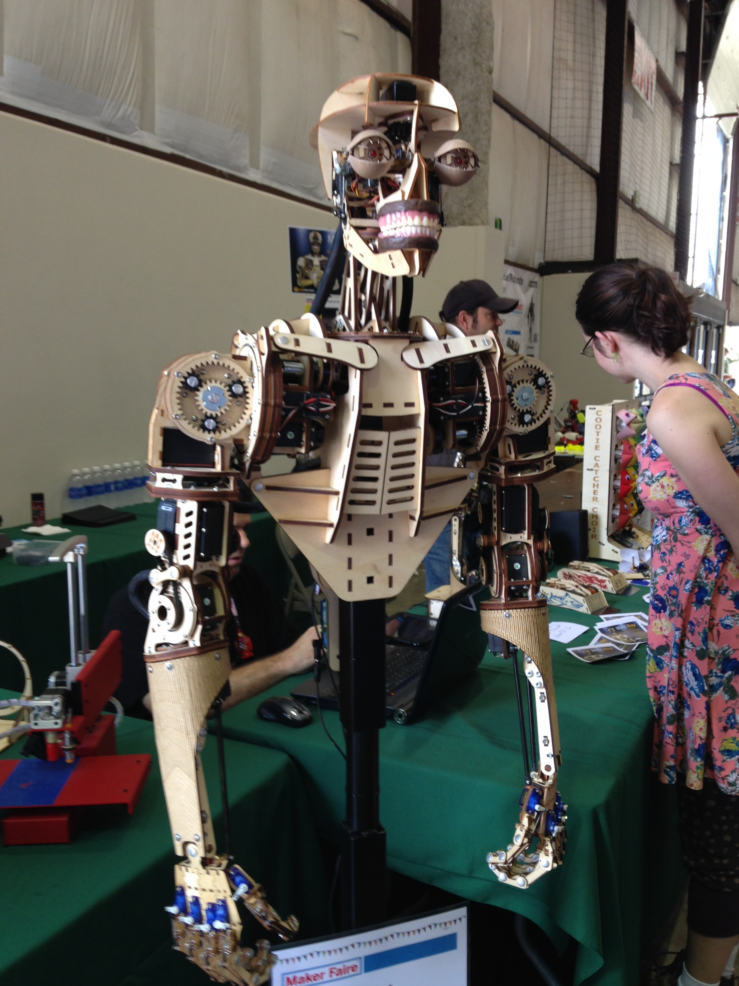 Meeting Roy the Robot, byBrian Roe!