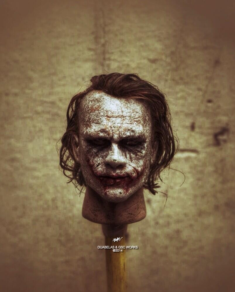 Duabelas Kitbasher - 1:6 Custom Joker