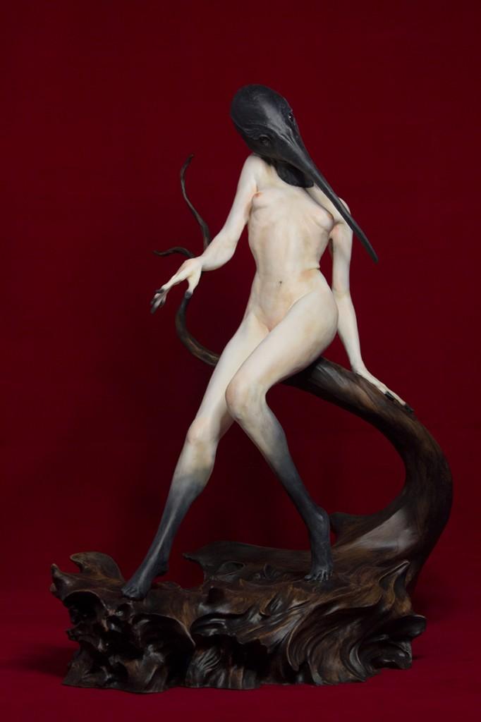 Ibis sculpture by Matthew J. Levin