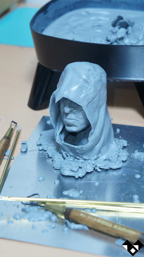 Kyung Won Kim - Altaïr Ibn-La'Ahad Fan sculpture WIP