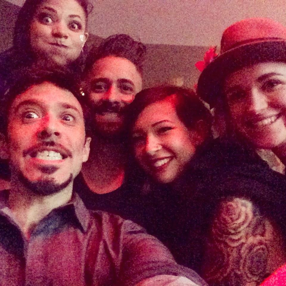 Adam Beane, Regina Jiganti, Niko Gonzalez, andCat Paschen.