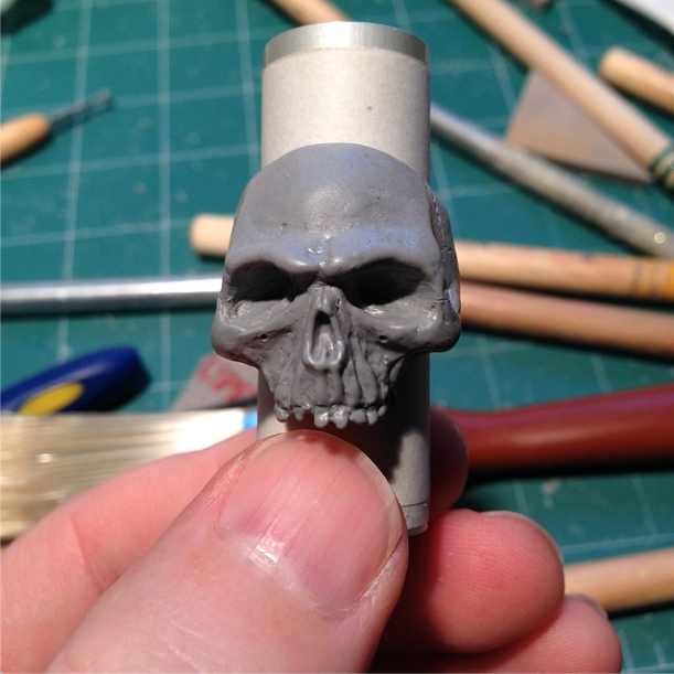 Bad At Karate - Skull ring