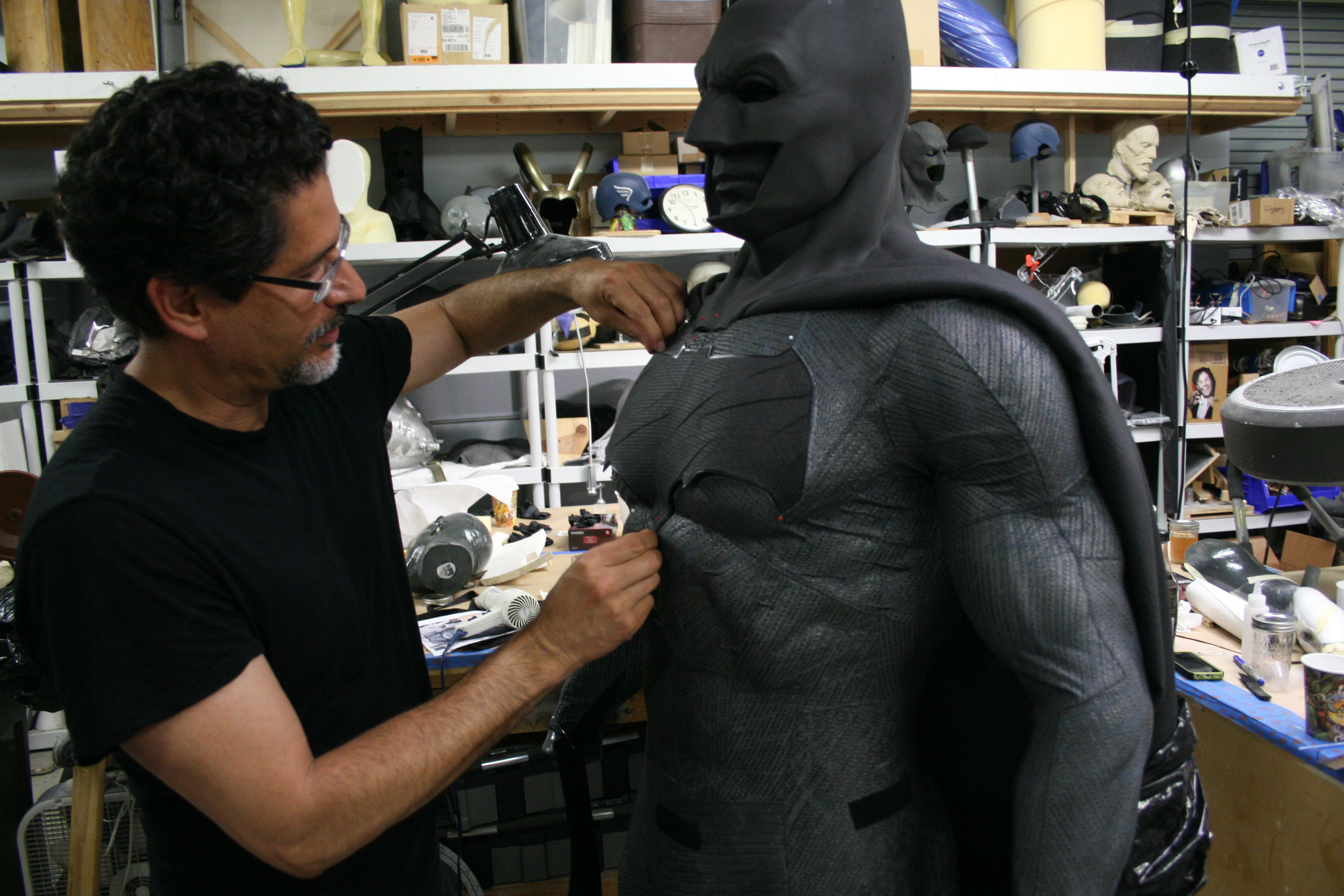 Batman suit by Ironhead Studios