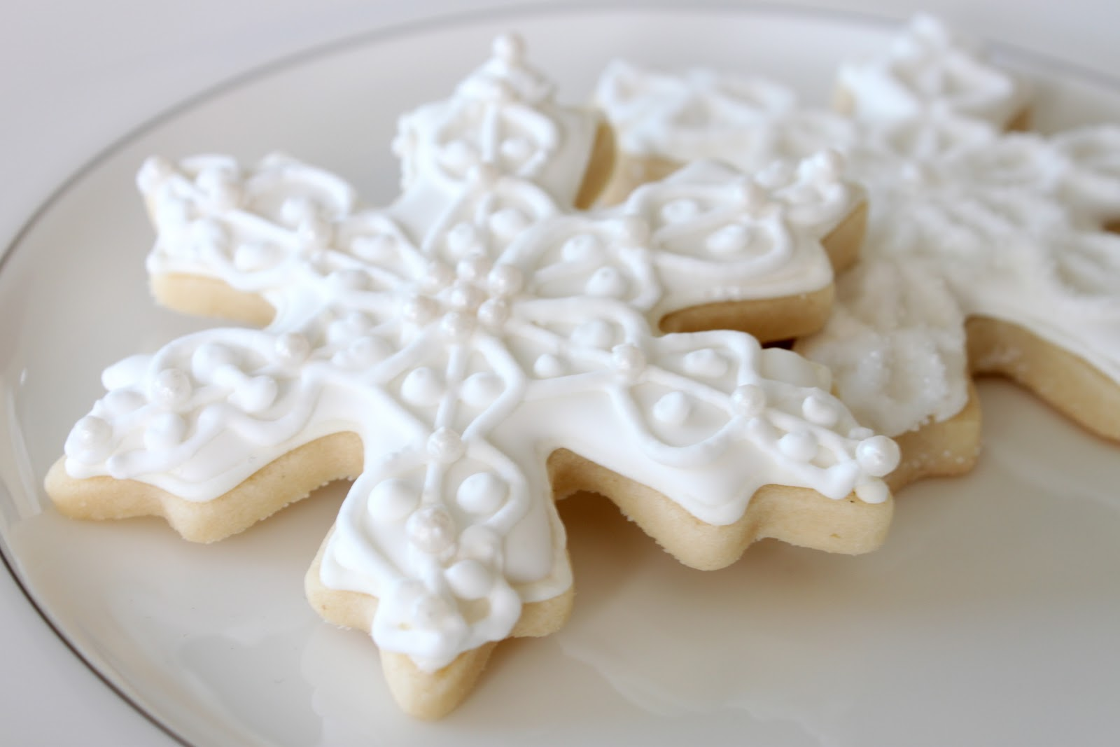 One tradition I love is making Christmas cookies or Candy. Usually with my mom or daugher. I love making cutout cookies with a sweet buttery icing.