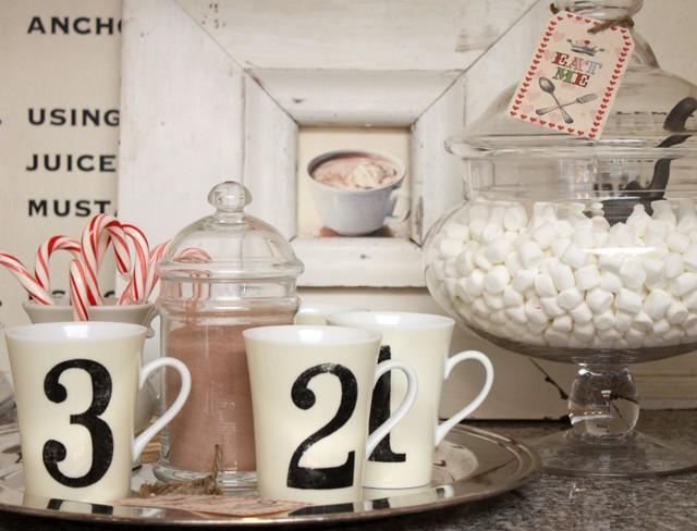 Love this Hot Chocolate Bar on the buffet. Great idea from mysweetsavannah.blogspot.com.