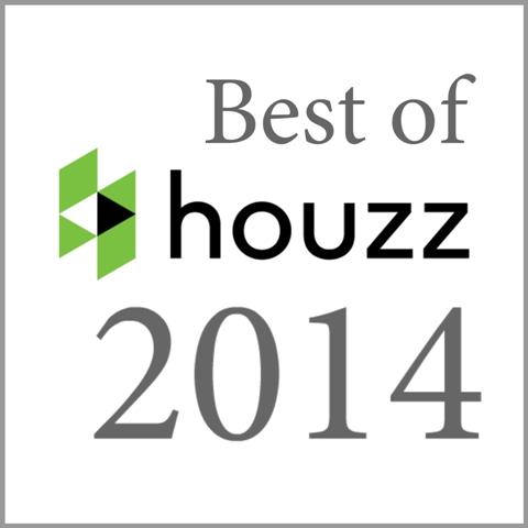 """Best Of Houzz"" awards is in two categories:   Customer Satisfaction & Design"